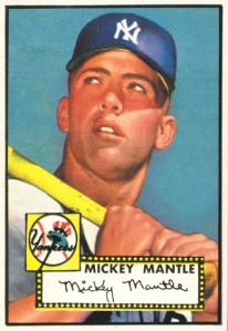 mickey mantle rookie card mint