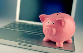 computer piggy