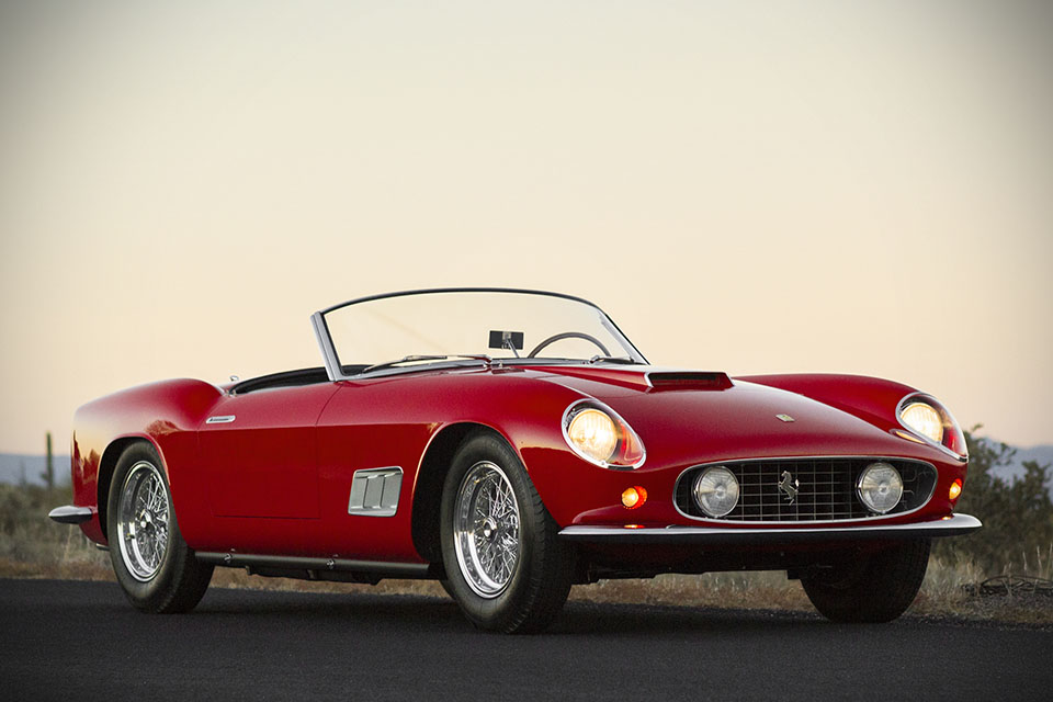 1958 Ferrari 250 GT California LWB Spyder sold by RM Auctions for $8.8M