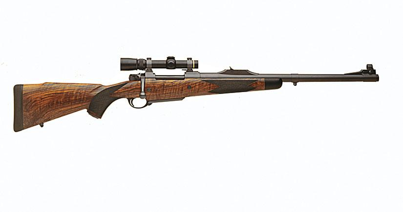 Custom Hunting Rifles Car Interior Design