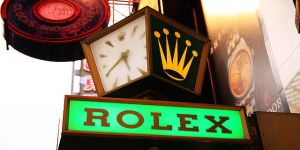 rolex sign